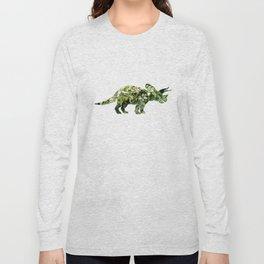 Triceratops Salvia Long Sleeve T-shirt