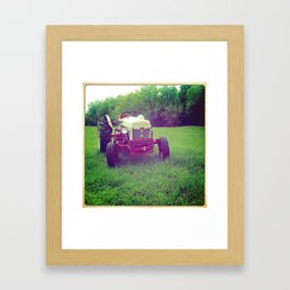 Girdy Framed Art Print