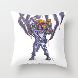 Candy-Trooper, Poison Throw Pillow