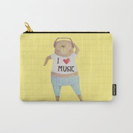 Music Bear Carry-All Pouch