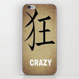 Crazy iPhone Skin