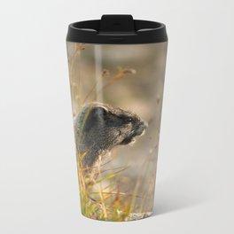 Marmot In The Morning... Metal Travel Mug
