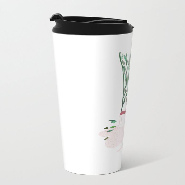 Shoes and Branches Metal Travel Mug