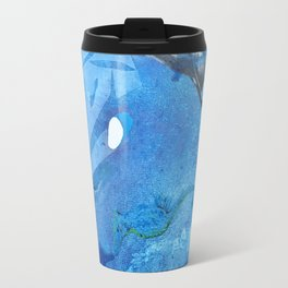 Whale and Seahorse Travel Mug