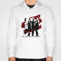 pretty little liars Hoodies featuring Pretty Little Liars by Rose's Creation