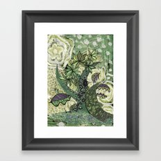 jungle 2 Framed Art Print