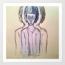 ugly art Art Print