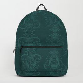 Carnivorous Damask (Turquoise) Backpack