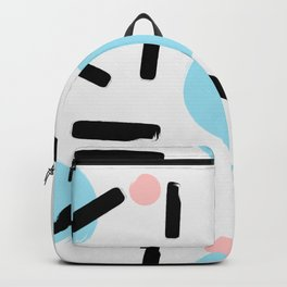Colo pop circles Backpack