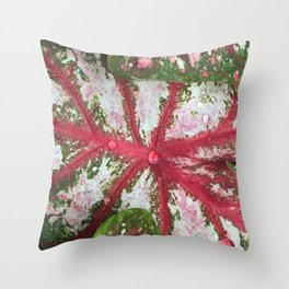 Heart of the Leaf Throw Pillow