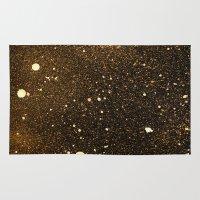 interstellar Area & Throw Rugs featuring interstellar by D /graphic design & illustration/
