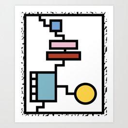 Stairway to Paradise Art Print