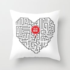 Finding Love II Throw Pillow