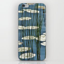 Yellow waterlily iPhone Skin