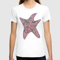 starfish T-shirts featuring Starfish by Planet Hinterland by Carmen Hickson