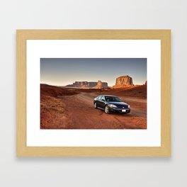 Monument Impala Framed Art Print