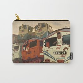 Train Graveyard Carry-All Pouch