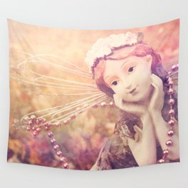 Autumnal Fairy Wall Tapestry