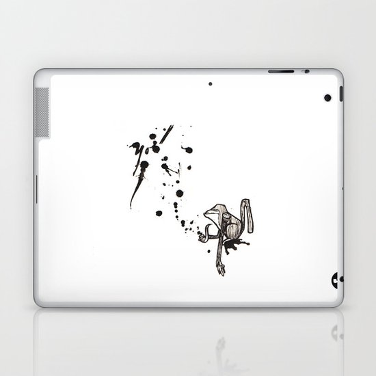 Pensive Primate. Laptop & iPad Skin