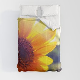 nature flowers macro depth of field Comforters