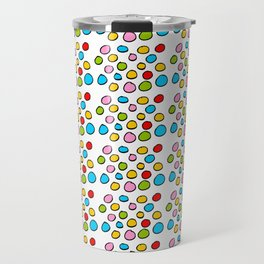Circle and abstraction 3-abstraction,abstract,geometric,geometrical,pattern,circle,sphere Travel Mug