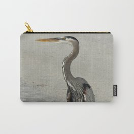 Living On A Beach Carry-All Pouch