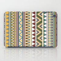 aztec iPad Cases featuring Aztec by Dianne Delahunty