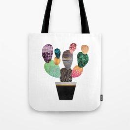 Pretty Cactus Tote Bag