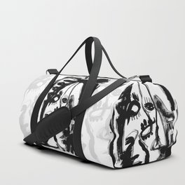 Eternity of a Lifetime - b&w Duffle Bag