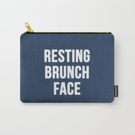 Resting Brunch Face Carry-All Pouch