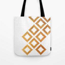 Gold nordic design Tote Bag