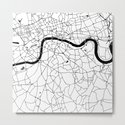 London Minimal Map by mapmaker