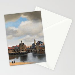 Johannes Vermeer - View of Delft Stationery Cards