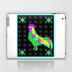 dubstep rooster Laptop & iPad Skin