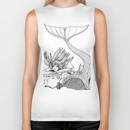 Mermaid rock Biker Tank