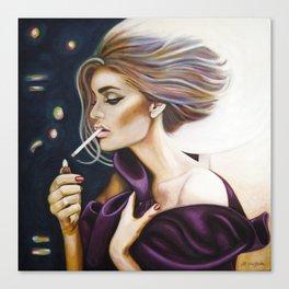 I Light My Own Canvas Print