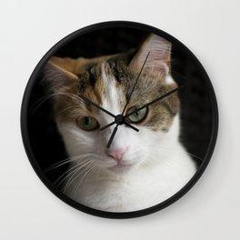 Molly, portrait n Wall Clock