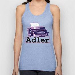 Adler Typewriter Unisex Tank Top