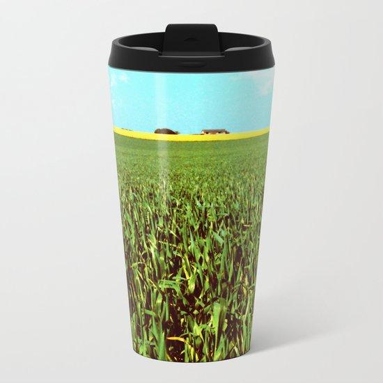 High Plains Crop Metal Travel Mug