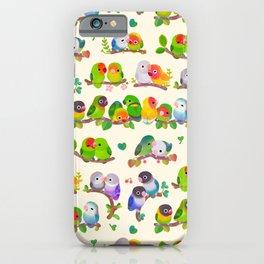 Lovebird iPhone Case