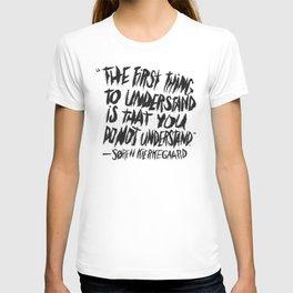 SØREN KIERKEGAARD T-shirt