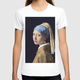 """Johannes Vermeer """"Girl with a Pearl Earring"""" T-shirt"""