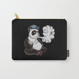 Vaping Panda Bear Illustration | Animal Vape Carry-All Pouch