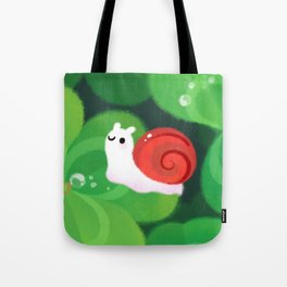 Happy lucky snail Tote Bag
