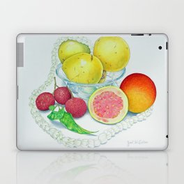 Pikake Lei Laptop & iPad Skin
