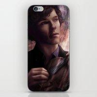 sherlock iPhone & iPod Skins featuring Sherlock by jasric