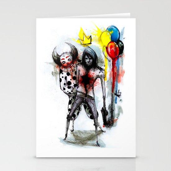 Clown Fun Stationery Cards