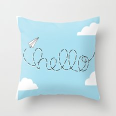 Passing Notes Throw Pillow