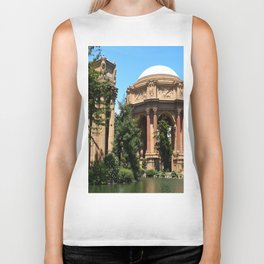 View Over The Lagoone To The Palace Of Fine Arts - San Francisco Biker Tank