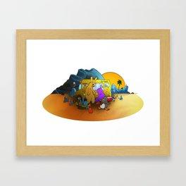 Hollydayz Framed Art Print